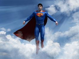 The Man of Steel by kevmann