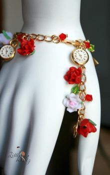 Paint the Roses Red:on wrist by airymilu