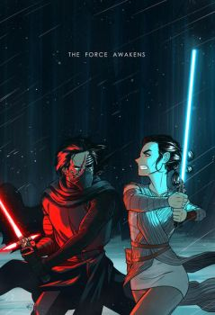 The Force Awakens by AndrewKwan