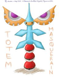 Masquerain Totem by MCS1992