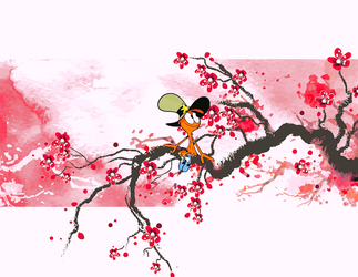 Wander with cherry blossoms by nguyendtgiang