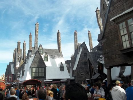 Muggles at Hogsmeade by GoddessChelle