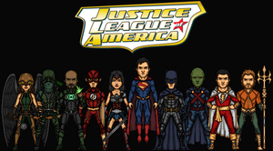 Justice League of America (Earth-1) by Nova20X