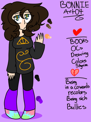 Meet the artist new persona by Bonnieart04