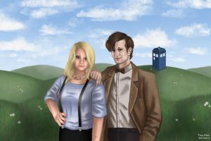The Doctor and Ally by Kittensoft