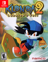 Klonoa 2 Switch Fake Cover by darren9999