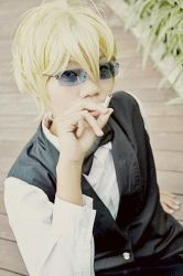 Me as Shizuo Heiwajima by suzuppe
