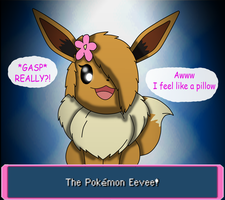 an EEVEE! by soupcanz