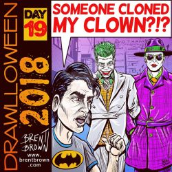 Drawlloween2018-Day-19-clowns by bre-bro