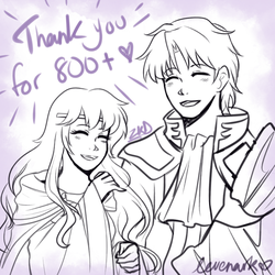 Thank you for 800+ watchers! by levenark