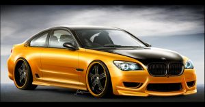 BMW 7 series Coupe by GTStudio