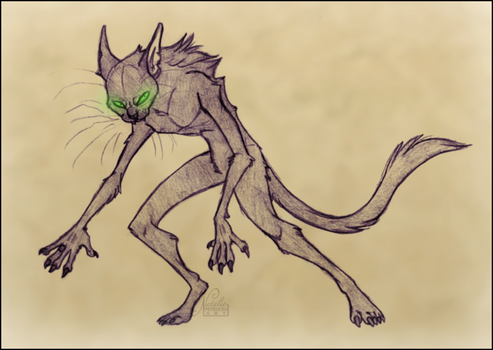 a werecat, basically by NattiKay
