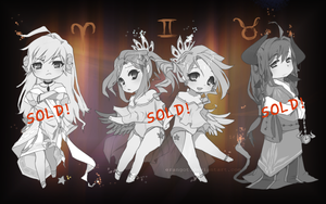 AUCTION | Horoscope Adopts 1 of 4 [CLOSED] by Erangot
