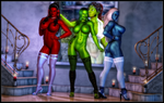 Take A Picture - RGB Trio by ExGemini