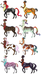 FR: Pixel Centaurs by theshadow79