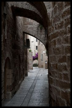 Jerusalem - Alley 2 by echomrg