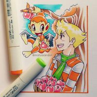 Jun and Chimchar