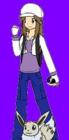 me as a pokemon trainer by ninjaeevee