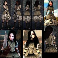 Alice 2_royaldress Kindstod skin by Cerberus071984