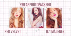 Photopack 327: Red Velvet by SwearPhotopacksHQ