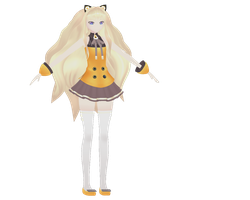 SeeU is finished and ready to be rigged! by MMD-MCL