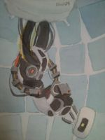 GLaDOS that giant.. by Piriie