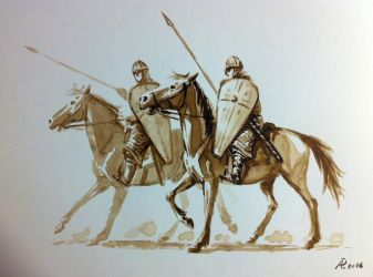 Norman Cavalry by alempe