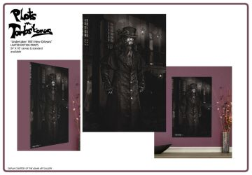 Undertaker 1851 New Orleans exclusive prints by Shinjuchan