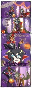 Trick or treat by Atobe333