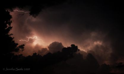 Lightning by jayshree