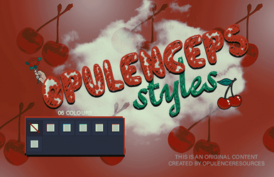 Opulenceps (3) Styles | CHERRY by OpulenceResources