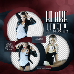 Pack Png 2225 - Blake Lively by southsidepngs