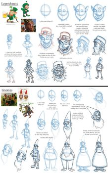 Notes on Leprechauns and Gnomes by Expression