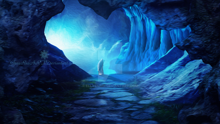 Misty cave by Ellysiumn