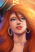 Miss Fortune by jellophish