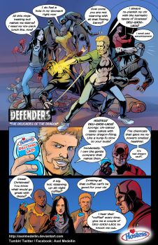 TLIID 357. Defenders' Hostess ad by AxelMedellin