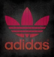 Typography Adidas by helder