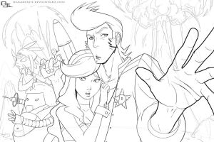 Space Dandy W.I.P. by DarkKenjie