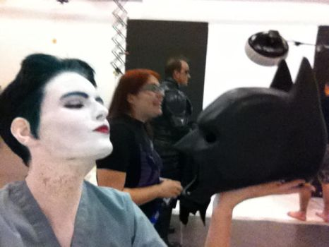 DC Photoshoot April 25th - Behind Scenes 2 by theofficialjoker