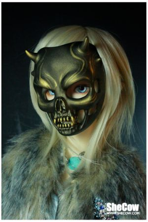 Demon Mask by SheCow
