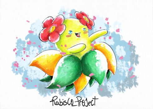 Bellossom Tradicional Water Color. by Willian92