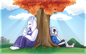 Jokes - Soriel Week Day 1 by MissHoloska