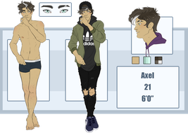 Axel ref by rytanny