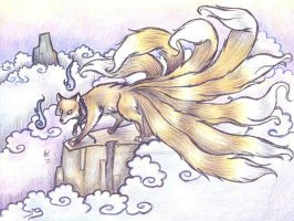 Kitsune by who-stole-MY-name
