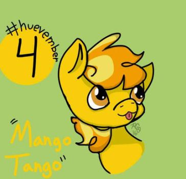 #huevember Day 4: Mango Tango by Rabies-the-Squirrel
