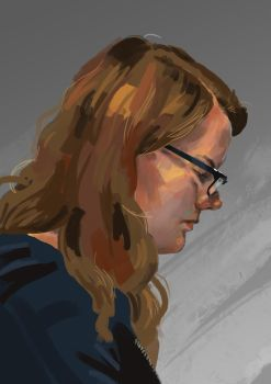 Digital Portrait by Dewilish