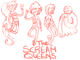 The scream queens by PeppermintBat