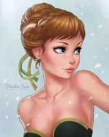 Princess Anna by dandonfuga