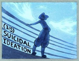 (3/5) Suicidal Ideation by DestinyBlue