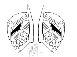 My Vizard Mask side views by Krackmunkie